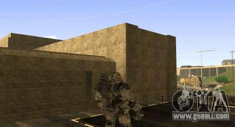 TitanFall Atlas for GTA San Andreas forth screenshot