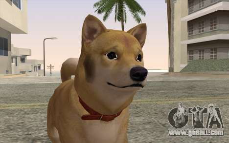 Dog for GTA San Andreas third screenshot
