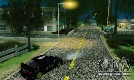 Heavy Roads (Los Santos) for GTA San Andreas