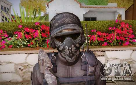 Kick из Call of Duty: Ghosts for GTA San Andreas third screenshot
