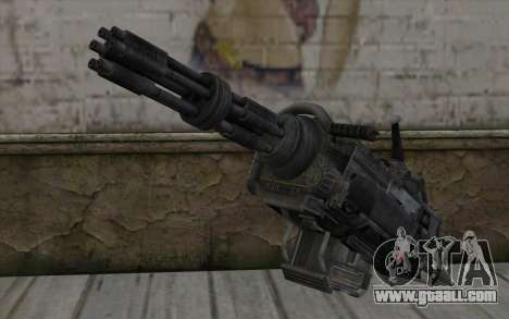 Minigun из Fallout for GTA San Andreas
