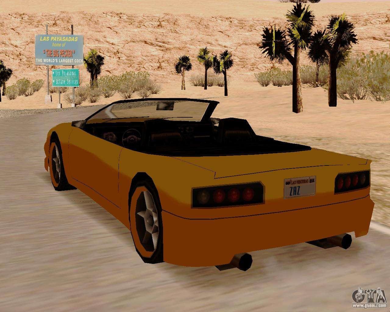 super gt convertible for gta san andreas