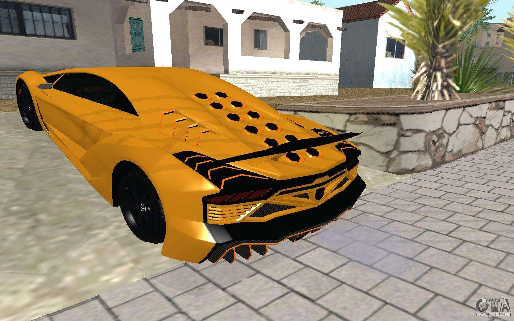 GTA 5 Zentorno for GTA San Andreas