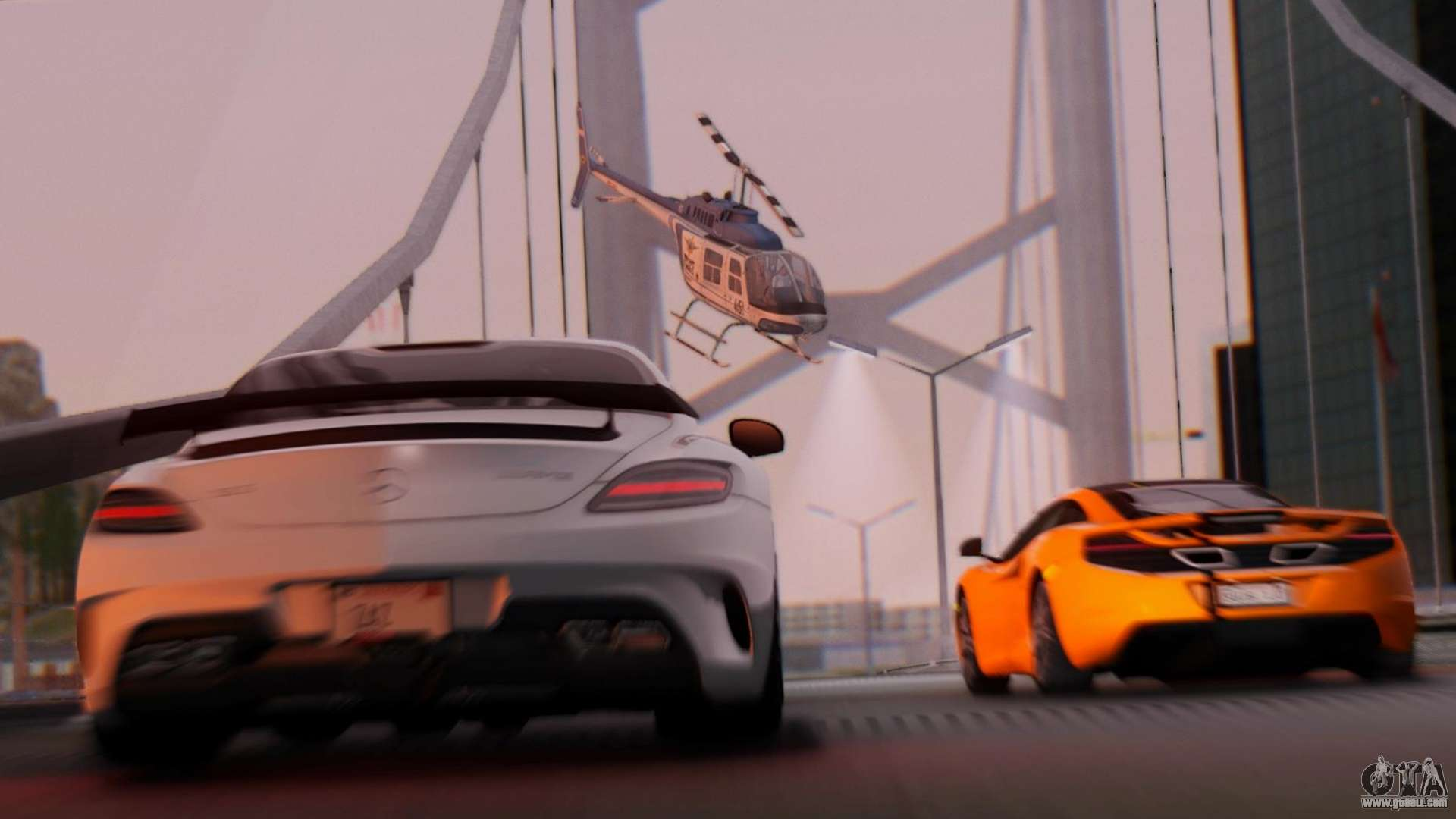 SA Beautiful Realistic Graphics 1 7 Final for GTA San Andreas