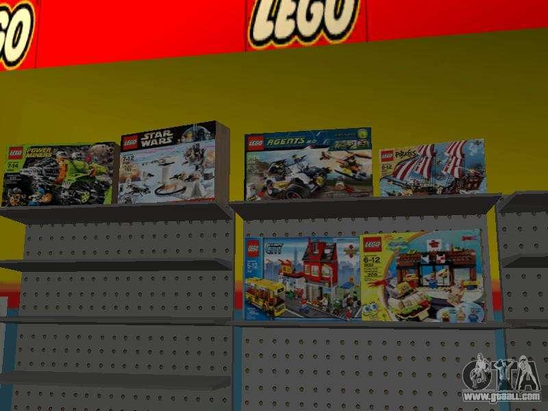 The LEGO shop for GTA San Andreas