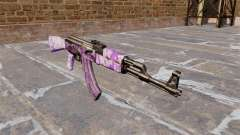 The AK-47 Purple camo for GTA 4