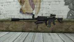M4A1 из COD Modern Warfare 3 for GTA San Andreas