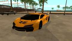 GTA 5 Zentorno for GTA San Andreas