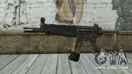 G53 with Woodland Camo BF3 for GTA San Andreas