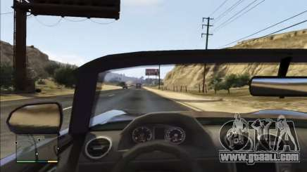 First Person Mod for GTA 5
