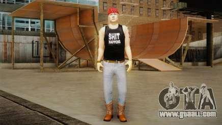 Axl Rose Skin v2 for GTA San Andreas