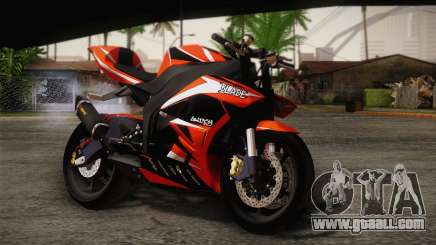 Ninja ZX6R Stunt Setup for GTA San Andreas