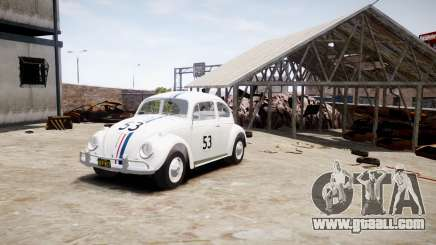 Volkswagen Beetle 1962 for GTA 4