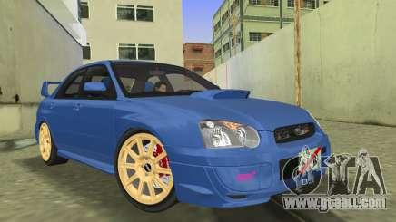 Subaru Impreza WRX STI 2005 седан for GTA Vice City