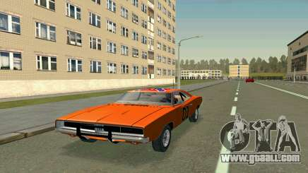 Dodge Charger General lee for GTA San Andreas