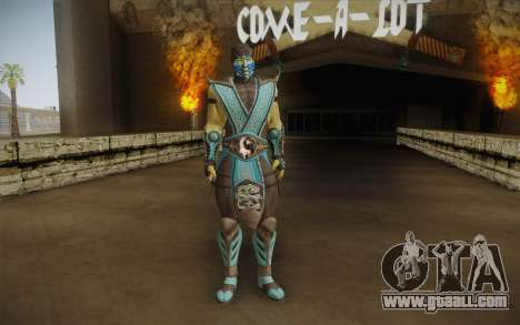 Sub Zero Skin v2 for GTA San Andreas