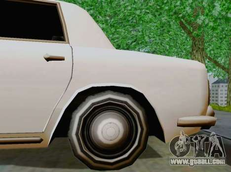 Stafford Limousine for GTA San Andreas back view
