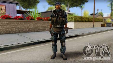 Sami GIGN from Soldier Front 2 for GTA San Andreas