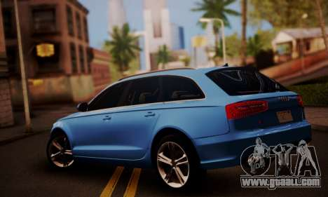 Audi S6 Avant 2014 for GTA San Andreas left view