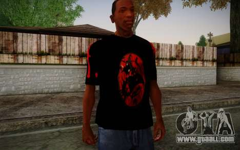 Uchiha Itachi T-Shirt for GTA San Andreas