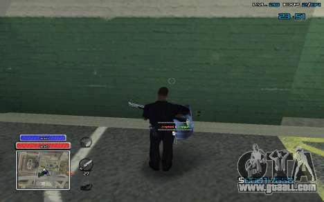 New C-HUD v.2 for GTA San Andreas