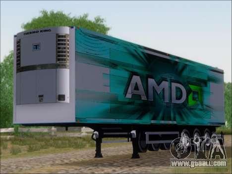 Trailer AMD Athlon 64 X2 for GTA San Andreas left view