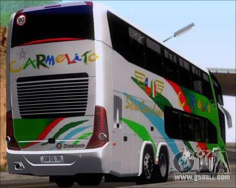 Marcopolo Paradiso G7 1800 DD 6x2 Scania K420 for GTA San Andreas