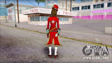 Moxxi from Borderlands for GTA San Andreas second screenshot