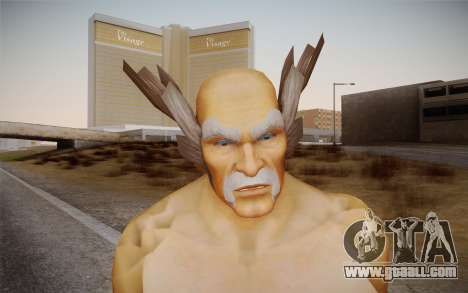 Heihachi Mishima v2 for GTA San Andreas third screenshot