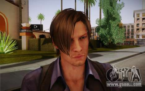 Leon Kennedy from Resident Evil 6 for GTA San Andreas third screenshot