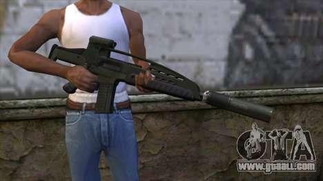 XM8 Assault Olive for GTA San Andreas third screenshot