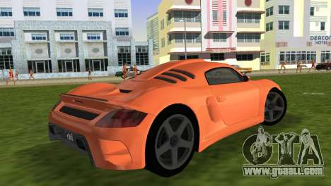 RUF CTR3 for GTA Vice City left view