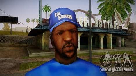 Sweet Blue Skin for GTA San Andreas third screenshot