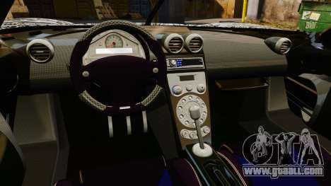 Koenigsegg CCX v1.5 for GTA 4 inner view