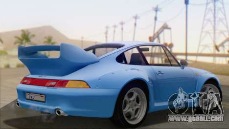 Porsche 911 GT2 (993) 1995 V1.0 SA Plate for GTA San Andreas left view