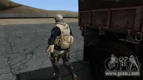 Army Ghost v2 for GTA San Andreas third screenshot