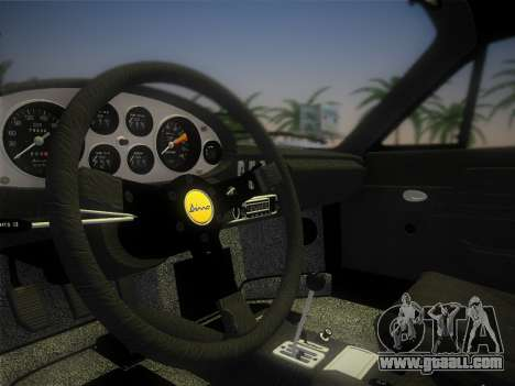 Ferrari 246 Dino GTS 1972 for GTA Vice City side view