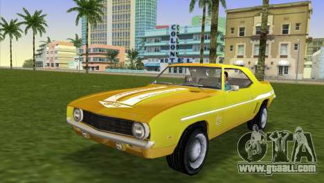 Chevrolet Camaro Cab 1969 for GTA Vice City