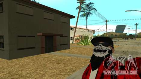 Selfie Mod for GTA San Andreas second screenshot