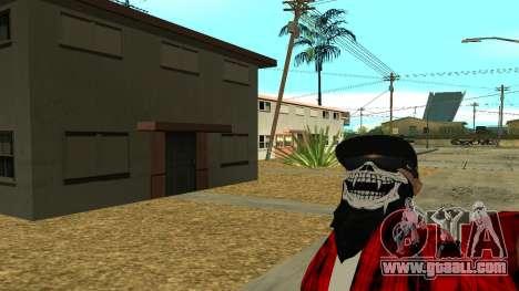 Selfie Mod for GTA San Andreas second screenshot