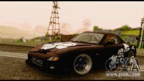 Mazda RX-7 for GTA San Andreas