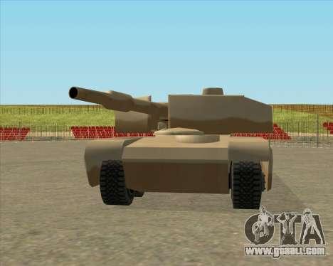 Dozuda.s Primary Tank (Rhino Export tp.) for GTA San Andreas