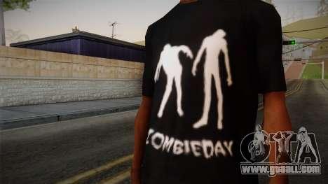 Zombie Polo Shirt for GTA San Andreas third screenshot