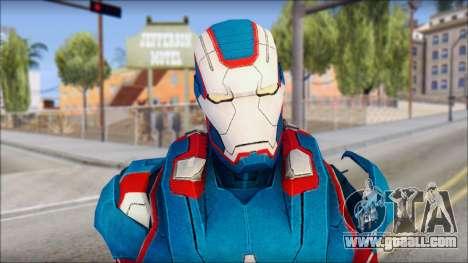 Iron Patriot for GTA San Andreas third screenshot
