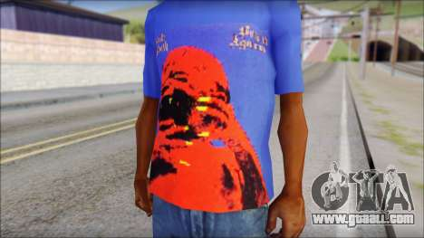 Black Sabbath T-Shirt v3 for GTA San Andreas third screenshot