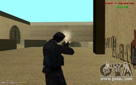 Cheat sight for GTA San Andreas second screenshot
