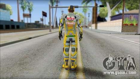 Piers Amarillo Gorra for GTA San Andreas second screenshot