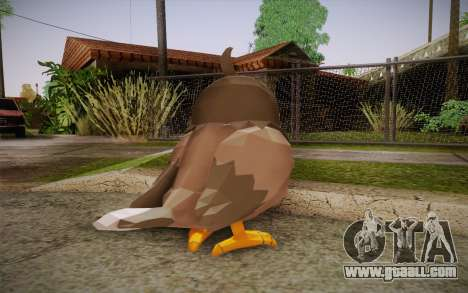 Starly from Pokemon for GTA San Andreas second screenshot