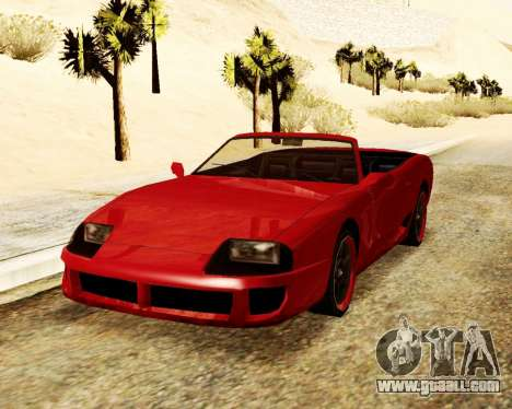 Jester Convertible for GTA San Andreas