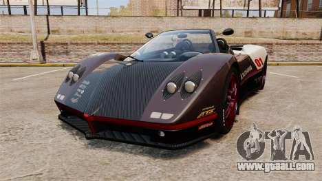 Pagani Zonda C12S Roadster 2001 v1.1 PJ4 for GTA 4
